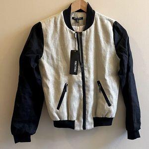 NWT 🏷 For Cynthia linen/cotton bomber jacket